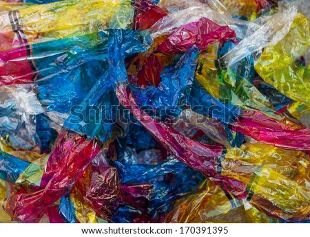 Waste ink spoil to be destitute - stock photo