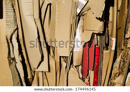 Waste Paper - stock photo
