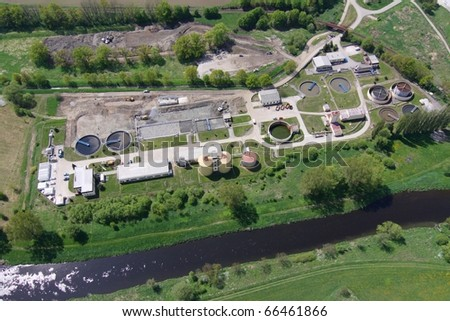 waste-water treatment plant