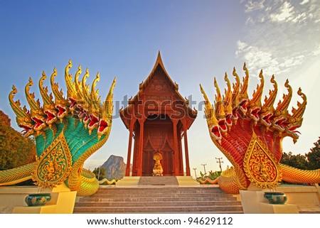 Wat aow noi prachuabkirikhan Province, Thailand - stock photo