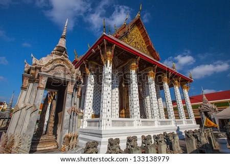 Wat Arun, Bangkok Thailand - stock photo
