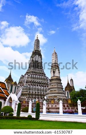 Wat arun,thailand - stock photo