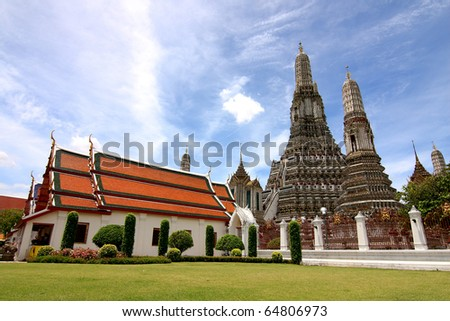 Wat arun,thailand - stock photo