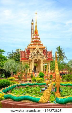 Wat Ch along - stock photo