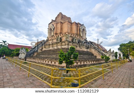 WAT JEDI LUANG TEMPLE (CHIANGMAI - Travel Thai Asia )
