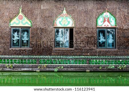 Wat lan kuad, Srisaket, North-East of Thailand - stock photo
