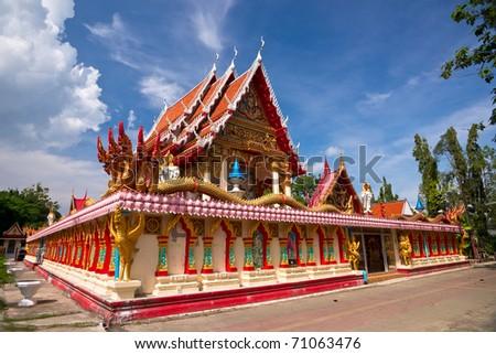 Wat Phra Nang Sang in Phuket, Thailand - stock photo