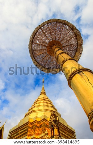 Wat Phra That Doi Suthep in Chiang Mai Province, Thailand