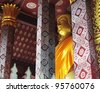 Wat sensoukharam, Luang Prabang, Laos. - stock photo