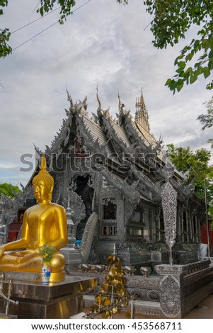 Wat Sri Suphan, first silver temple in the world ,Chiang Mai, Thailand