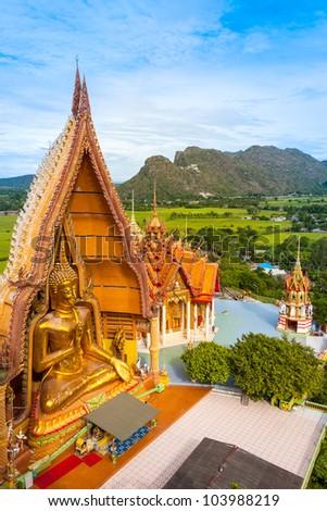 Wat Tham Suea,Kanchanaburi,Thailand - stock photo