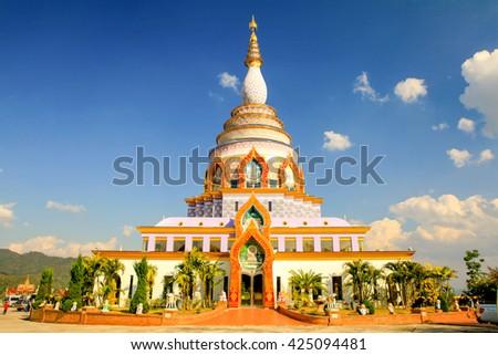 Wat Thaton at Chiang Mai, Thailand.,wat,temple,wat,temple,temple,temple,temple,temple - stock photo