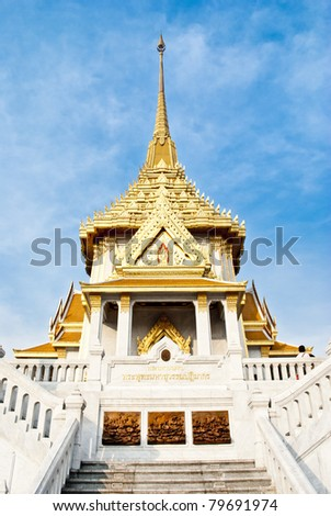 Wat Traimite Temple - stock photo