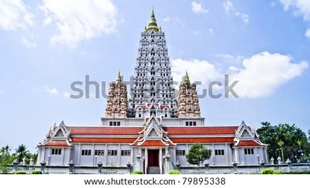 Wat Yanasangwararam - stock photo