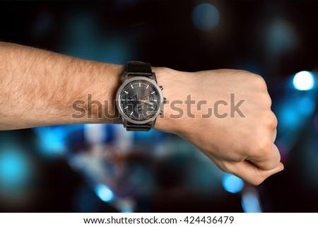 Watch. - stock photo