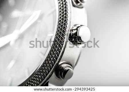 Watch, background, swiss. - stock photo