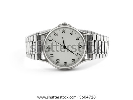 Watch Isolated - stock photo