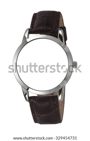 Watch Isolated on white background - stock photo