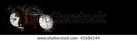 watch maker of the time - stock photo
