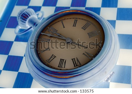 Watch Series: there is no time - stock photo