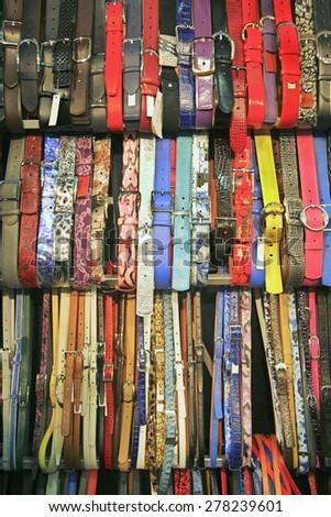 watch straps - stock photo