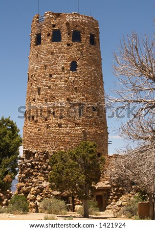Watch tower at Desert View, Grand Canyon