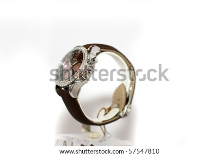 watch with white background