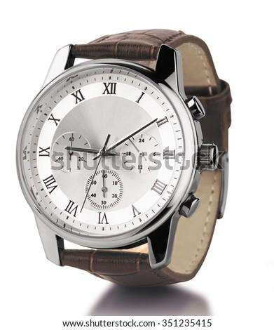 watch wrist - stock photo