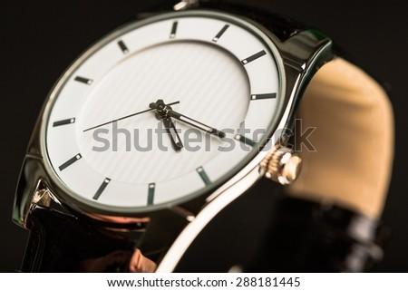 Watch, Wristwatch, Repairing. - stock photo