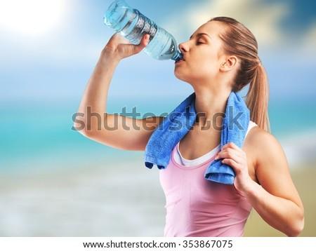 Water. - stock photo