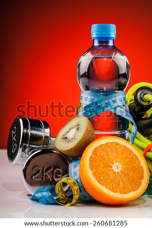 water and  fitness equipment  composition