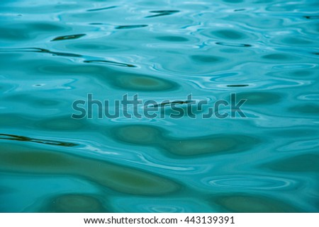 Water background, Abstract blue water background. - stock photo