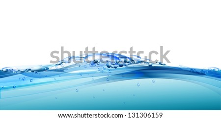 Water background. Raster version. - stock photo
