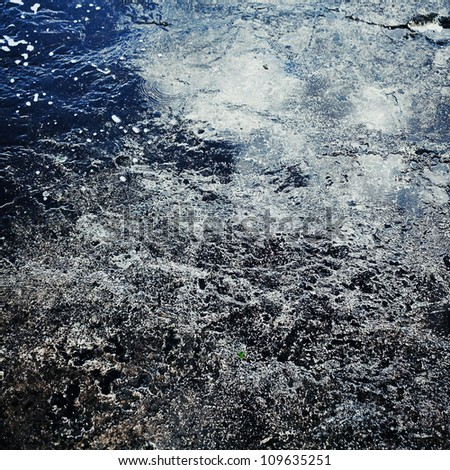 Water background texture