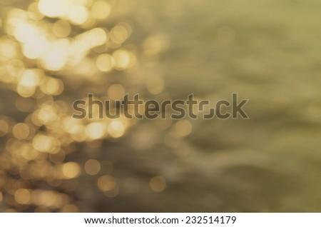Water bokeh - stock photo