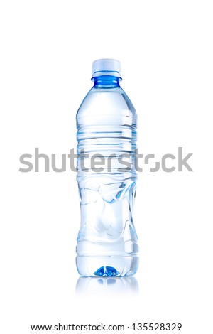 water bottle - stock photo