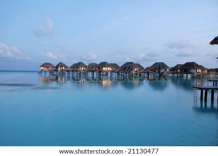 Water Bungalow in Maldives