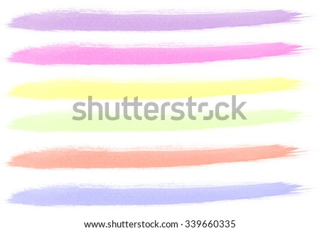 Water color hand painted brush strokes background