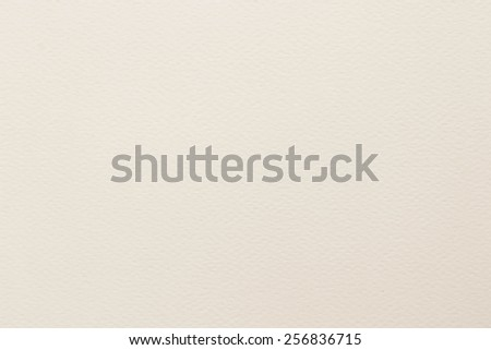 Water color paper texture background in cream tone  - stock photo