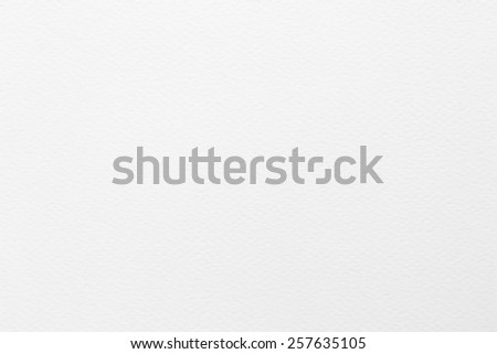 Water color paper texture background in light white grey tone  - stock photo