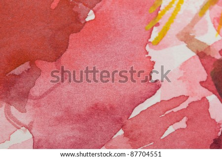 Water-color texture - stock photo