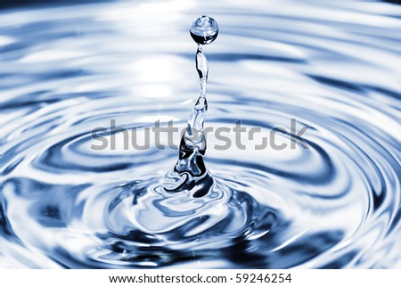 Water drop shot