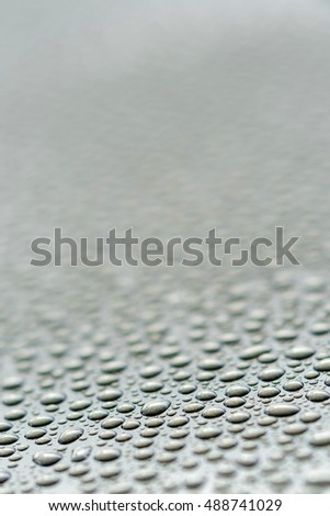 Water Droplets on Maetal