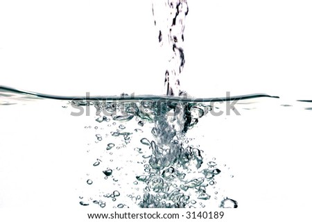 water drops #28 - stock photo