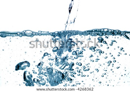 water drops #35 - stock photo