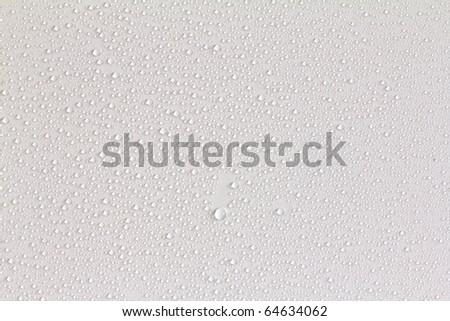 Water drops. - stock photo