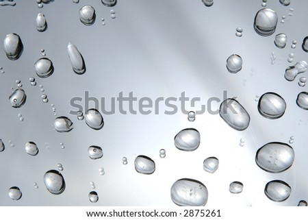 water drops -  droplets