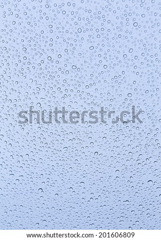 water drops on window background