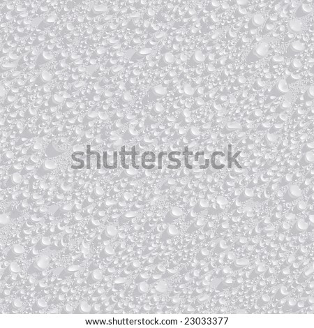 Water drops seamless background. - stock photo