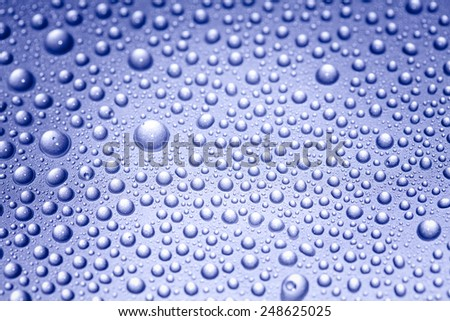 water drops, spa background